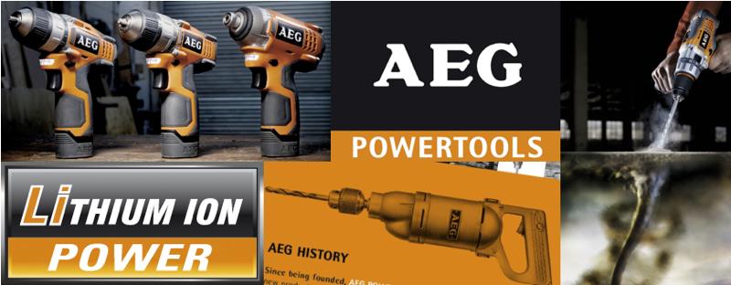 Σετ εργαλείων μπαταρίας AEG
