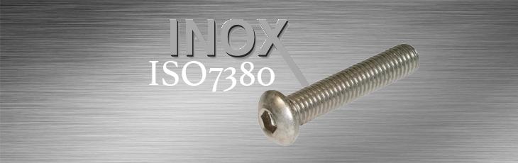 Βίδες Άλλεν Ιnox ISO7380 (Πομπέ Κεφαλή)