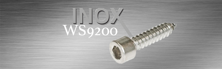 Inox Λαμαρινόβίδες Άλλεν WS9200
