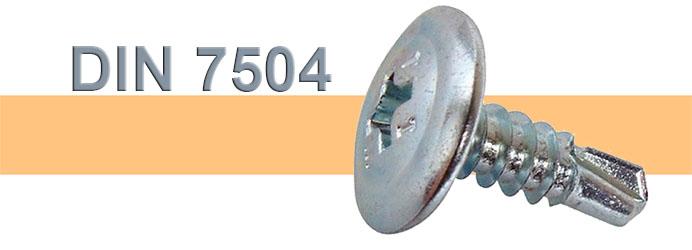 Αυτοδιάτρητες Ατσαλένιες Λαμαρινόβιδες Γαλβανιζέ TRUSS (WAFER) HEAD σταυρού DIN7504