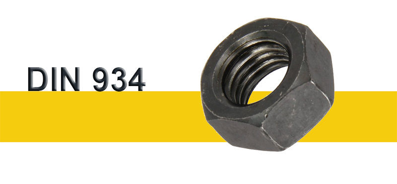 Περικόχλια Σκέτα με Ειδικά Πάσα DIN 934