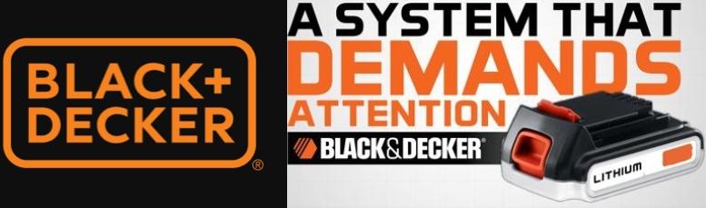 Μπαταρίες και φορτιστές Black Decker