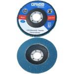 UNICO FLEX FLAP DISC Δίσκος Λείανσης μετάλλου/Ανοξειδώτου Ζιρκονίου/Κορουντίου