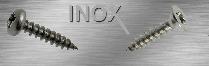 Βίδες αυτοκοχλιούμενες INOX (Λαμαρινόβιδες, Στριφώνια κλπ)