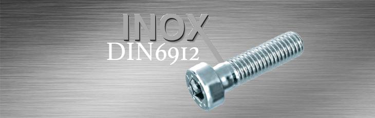 Βίδες Άλλεν Inox DIN6912 (Κοντή Κεφαλή)