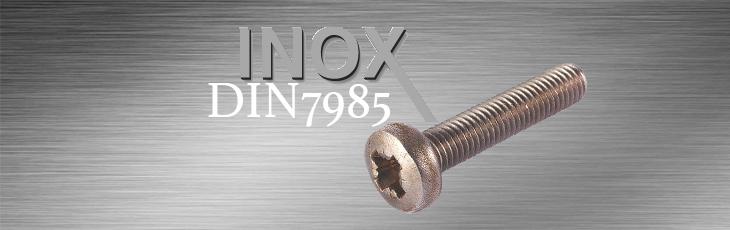 Μηχανόβιδες Inox Τραπεζοειδή (Ψωμάκι) DIN7985