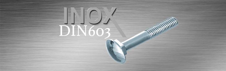 Κασονόβιδες Inox DIN603