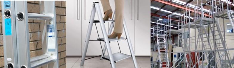 Σκάλες Αλουμινίου & Ξύλινες