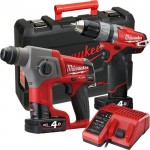 Σετ Milwaukee MILWAUKEE M12 CPP2B-402C FUEL POWERPACK SET M12CH M12CPD [4933447479]