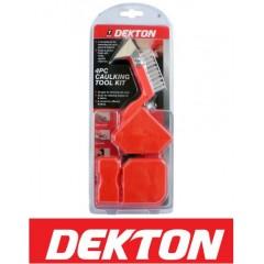 DEKTON DT95890 Σετ αφαίρεσης/στρωσίματος σιλικόνης/ακρυλικού στόκου