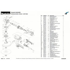 Ανάλυση εργαλείου MAKITA GA9020R