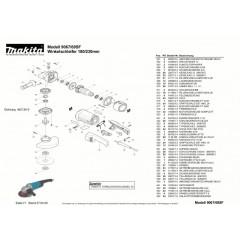 Ανάλυση εργαλείου MAKITA 9069SF