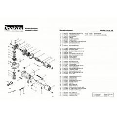 Ανάλυση εργαλείου MAKITA 9528NB