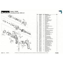 Ανάλυση εργαλείου MAKITA FS4000