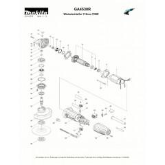 Ανάλυση εργαλείου MAKITA GA4530R
