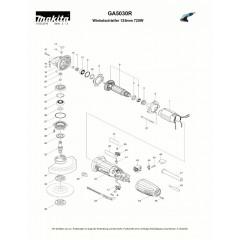 Ανάλυση εργαλείου MAKITA GA5030R