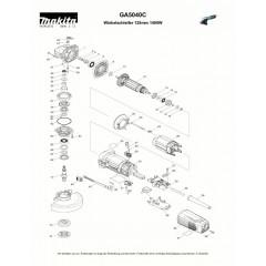 Ανάλυση εργαλείου MAKITA GA5040C