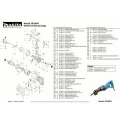 Ανάλυση εργαελίου MAKITA JR3000V