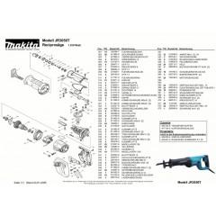 Ανάλυση εργαλείου MAKITA JR3050T
