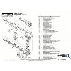 Ανάλυση εργαελίου MAKITA JR3060T