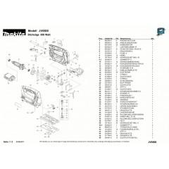 Ανάλυση εργαελίου MAKITA JV0600