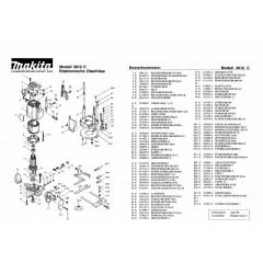 Ανάλυση εργαλείου MAKITA 3612C