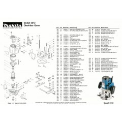 Ανάλυση εργαλείου MAKITA 3612