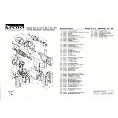 Ανάλυση εργαλείου MAKITA 6013BR