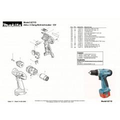 Ανάλυση εργαλείου MAKITA 6271D