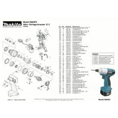 Ανάλυση εργαλείου MAKITA 6980FD