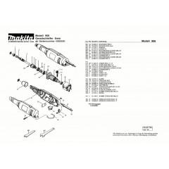 Ανάλυση εργαλείου MAKITA GD0600