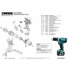 Ανάλυση εργαλείου MAKITA BDF440