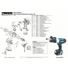 Ανάλυση εργαλείου MAKITA BHP451