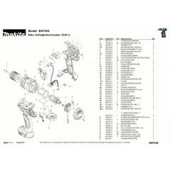 Ανάλυση εργαλείου MAKITA BHP458