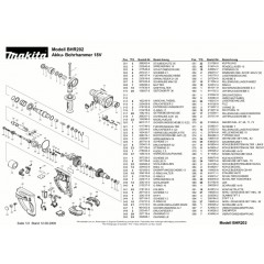 Ανάλυση εργαλείου MAKITA BHR202