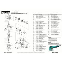 Ανάλυση εργαλείου MAKITA BO6040