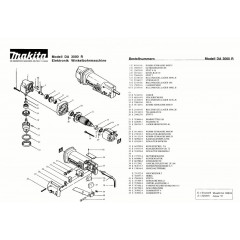 Ανάλυση εργαλείου MAKITA DA3000R
