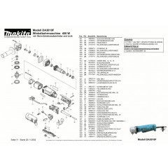 Ανάλυση εργαλείου MAKITA DA3010F