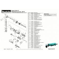 Ανάλυση εργαλείου MAKITA DA3011F