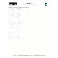 Ανάλυση εργαλείου MAKITA DF331D