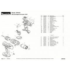 Ανάλυση εργαλείου MAKITA DHP453