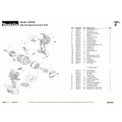 Ανάλυση εργαλείου MAKITA DHP481
