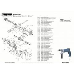 Ανάλυση εργαλείου MAKITA DP4001