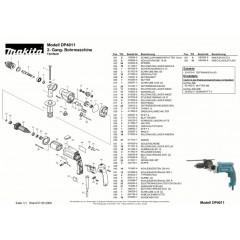 Ανάλυση εργαλείου MAKITA DP4011