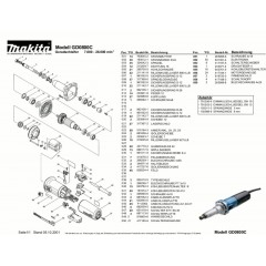 Ανάλυση εργαλείου MAKITA GD0800C