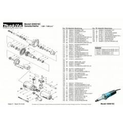 Ανάλυση εργαλείου MAKITA GD0810C