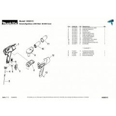 Ανάλυση εργαλείου MAKITA HG651C
