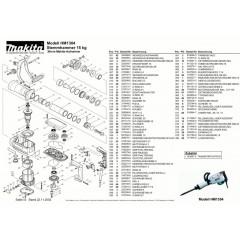 Ανάλυση εργαλείου MAKITA HM1304