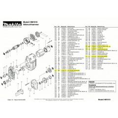 Ανάλυση εργαλείου MAKITA HM1810