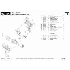 Ανάλυση εργαλείου MAKITA HP330D